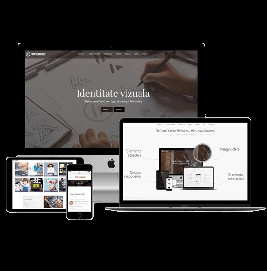 Agenție Web Design Brașov